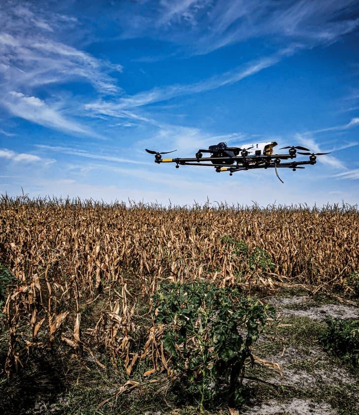 Agriculture de précision par drone