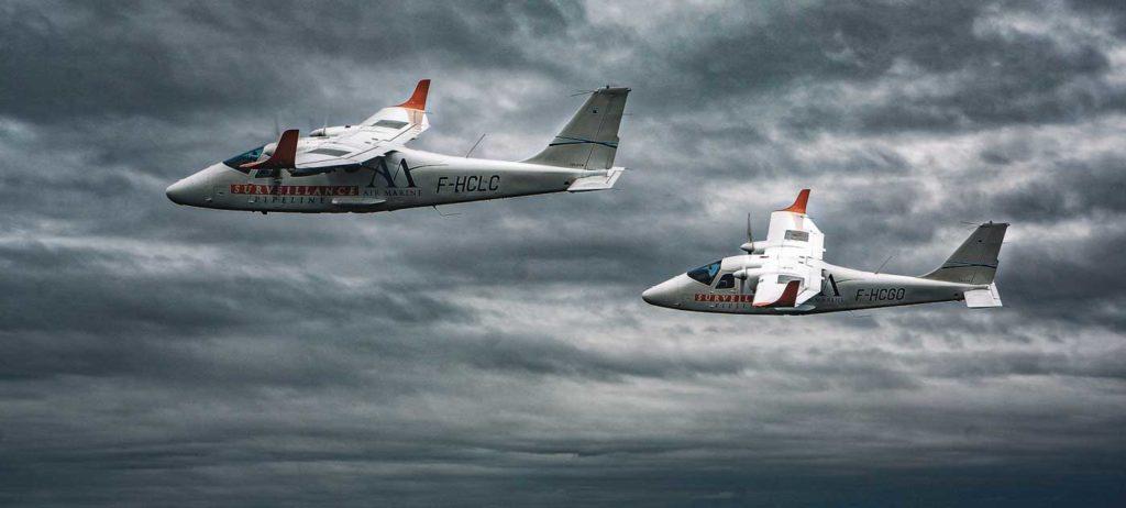 Vol patrouille surveillance aérienne